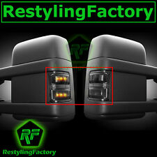 F250+F350+F450+F550 Super Duty 2008-2015 Side Mirror Light LED Smoke FORD New