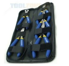 5 Pc MINI PLIER (pliers) TOOL KIT IN  POUCH (for jewellery, watches, repair etc