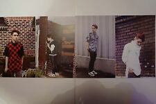 EXO D.O/Kyungsoo - XOXO Album Kiss version postcards - EXO/SNSD/FX/BTS