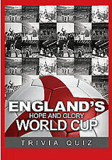 England's Hope And Glory - The World Cup Trivia Quiz [DVD] [2010], New DVD, , Fo