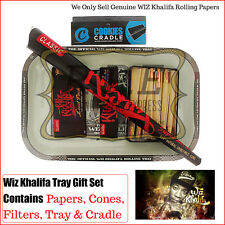 Wiz Khalifa Paper/Cones & Metal Tray Combo Gift Set - Excellent Value Great Gift