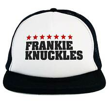 Cappello Frankie Knuckles Dj, Trucker Cap nero, The Godfather of House Music
