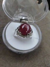 Afghan Ruby ring for men Real Unheated Gem