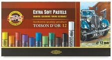 Koh-I-Noor Toison D'or Extra Soft Pastels, Set of 12