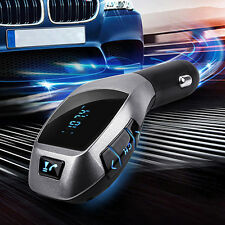 Bluetooth Car Kit Mp3 Player FM Transmitter X5 USB TF Charger Wireless Engaging