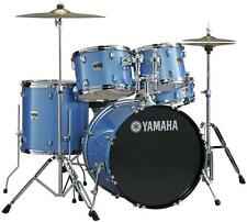 Yamaha Gigmaker Standard 5 Piece Drum Set *with Hardware* - Blue Ice Glitter
