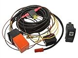 Defender Heated Wind Screen Wiring Harness Relay  With Switch PRE 2002