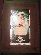 2015 Diamond Kings Framed Mini JIMMIE FOXX    Bat Relic #1/10 Rare