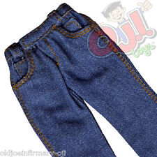 "FemBasix Light Blue Denim Jeans for 12"" Female Figures 1:6 Scale (1346g25)"