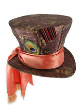 Alice In Wonderland Movie Mad Hatter Deluxe Hat Johnny Depp Version NEW UNWORN