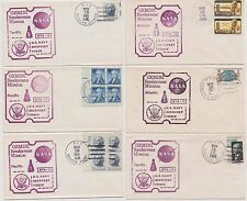 US Gemini 12 Manned Space Flight 1966 Navy Recovery Force 6 Ships 6 Covers!   