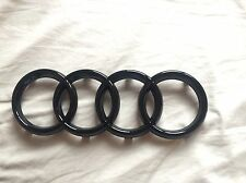 Audi A3 Gloss Black Front Grill Badge RS3 S3 TT A6 A7 A8 A4