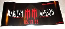MARILYN MANSON~The Golden Age of Grotesque~Promo Poster~NM~8x20~2003