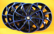 "Seat Alhambra,Leon ,Toledo etc..4x16"" WHEEL TRIMS / COVERS ,HUB CAPS ,Quantity 4"