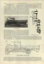 1915 Robeys Steam Wagon Detailed Cross-section Arrangement