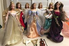 Lots Of 7 Barbie Mattel Angel Collections