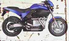 Buell M2 1999 Aged Vintage SIGN A3 LARGE Retro