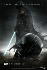 NEW Star Wars Episode 7 Movie Art Silk Poster 24x36 inch