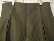 Original US WWII WW2 M-1943 Womens OD Sateen Trouser (Pants) Size 12 1943