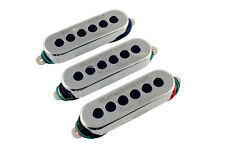 NEW Burns Brian May Tri-Sonic PICKUP SET 3 Pickups Guitar Chrome Isotropic Queen