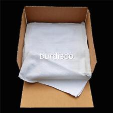 300 COTTON TERRY CLOTH CLEANING TOWELS SHOP RAGS 12X12-WHOLESALE PACK