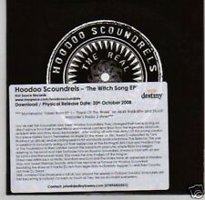 (L358) Hoodoo Scoundrals, The Witch Song EP - DJ CD