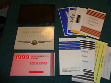 1999 CHRYSLER LHS OWNER'S MANUAL SET / ORIGINAL GUIDE BOOK WITH EXTRAS