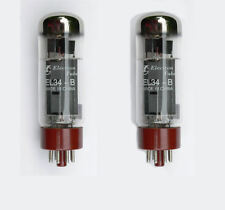 EL34 EL34B Valves Matched Pair for Marshall guitar / HiFi amplifiers 6CA7 Tube