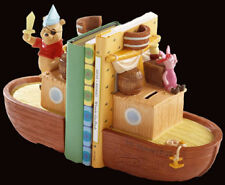 "Disney Pooh & Friends"" Bountiful Adventure"" Ship Bookends POOH & Piglet-NEW!"