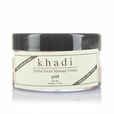 Khadi Herbal Facial Massage Cream Gold - 50 gm
