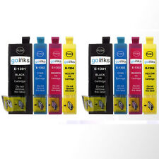 8 Ink Cartridges for Epson Workforce WF-3520DWF WF-7525 Pro WF-7015