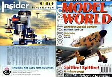 RADIO CONTROL MODEL WORLD MAGAZINE 1996 SEP SPITFIRE, SEPTFIRE, GLIDER ASK-16