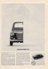 1964 MGB British Motor Corporation MG Sports Sedan PRINT AD