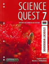 Science Quest 7 Australian Curriculum Edition Student Workbook '  Lofts