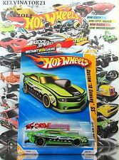 Hot Wheels 2010 #038 Custom '10 Camaro SS GREEN,NEW CASTING,US,KEYS TO SPEED