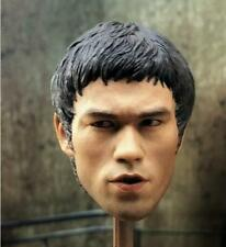 1/6 Bruce Lee Head sculpt Jet Li Muscle Body Shoe Jumpsuit Pants Enterbay UY7