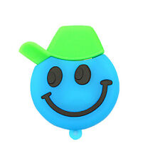 8GB U-disk Happy Face Shaped Cartoon 8 GB USB 2.0 Flash Memory Drive Blue