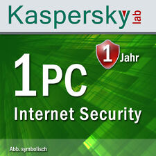 Kaspersky Internet Security 1 PC / 1 Device for Version 2015 and 2016
