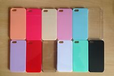 500 x WHOLESALE/JOBLOT iPHONE 5/s CANDY VARIOUS COLOURS HARDBACK PLASTIC CASES