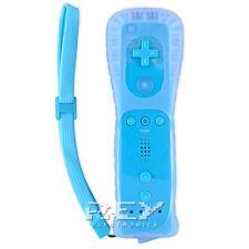 Mando Remote + Funda Silicona + Correa para Wii AZUL n37