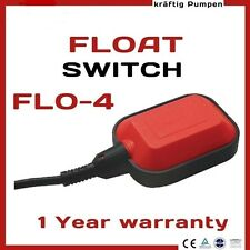 FLOAT SWITCH WATER LEVEL SENSORS INDICATOR AUTOMATIC CONTROLLER PUMP TANK POOL