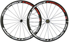 Superteam 38mm 700C Carbon Bike Clincher Wheels Bicycle Wheelset Touring Wheels