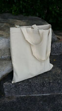 2 totes, 12oz Canvas tote,blank natural canvas tote bag, plain canvas tote bag