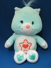 "Care Bears Cousins Proud Heart Cat 8"" Plush Stuffed Animal Kitty Play Along 2004"