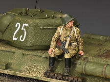 KING AND COUNTRY Red Army Sitting burp gunner WW2 RA46 RA046