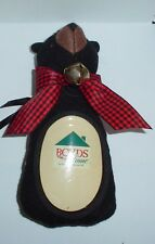 BOYDS-Plush BEAR-BLACK BEAR Ornament Photo Frame Holder (BB12)