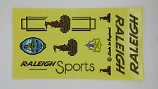 RALEIGH vintage BIKE BICYCLE RETRO CLASSIC STICKER DECAL 1 SHEET