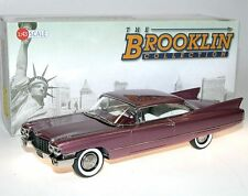 Brooklin BRK 207, 1960 Cadillac Series 62 Coupe, Siena Rose Metallic, 1/43