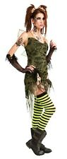 "Adult Ladies HALLOWEEN COSTUME ""Tattered Fairy"" w/ Wings SMALL MEDIUM Standard"