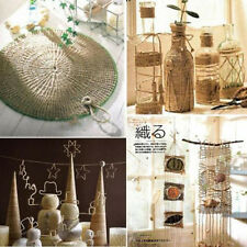 High Quality Natural Brown Jute Twine String Cord Rope Gift Craft Making DIY 60M